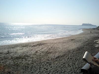 稲村ヶ崎の海