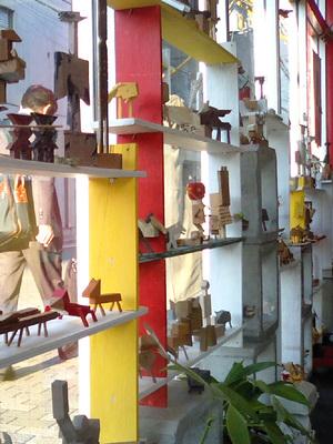 ガラクトーイ 展示の様子