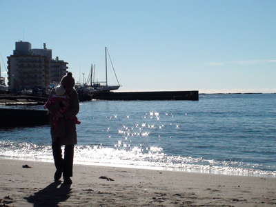 佐島の海にて